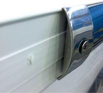 Sphaera: install rub rail - how to